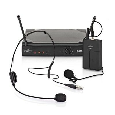 Single Lavalier And Headset Wireless Microphone System By Gear4music • 37.48£