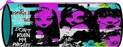Monster High Barrel Zip Up Pencil Case - Back To School Supplies • 3.69£