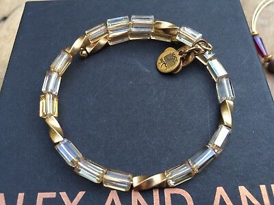 ALEX And ANI Indie Spirit VINTAGE 66 COPPER ALLURE Beaded GOLD Wrap BRACELET💎 • 31.11£