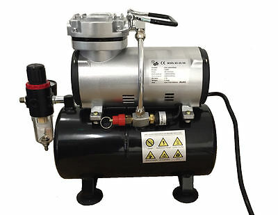 £95 • Buy Rdg Airbrush Compressor With Tank Only Art Crafts Paint Spraying Model Making