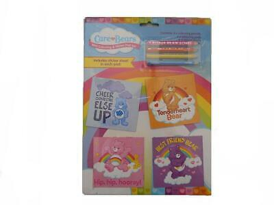 Care Bears Mini Colouring Pad Set - Kids Colouring Activity Party Favor Filler • 2.49£