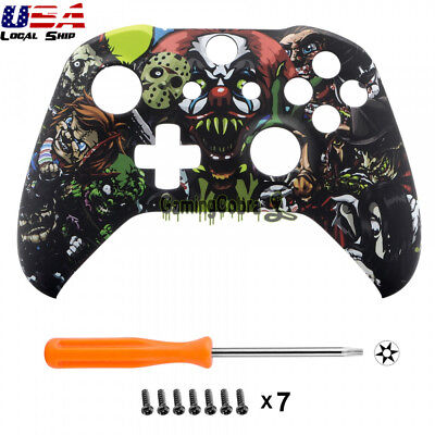 $16.99 • Buy Custom Scary Party Soft Touch Replace Top Shell For Xbox One X One S Controller