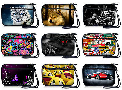 AU17.16 • Buy Shockproof Strap Case Bag Cover Pouch For Canon Powershot Digital Compact Camera