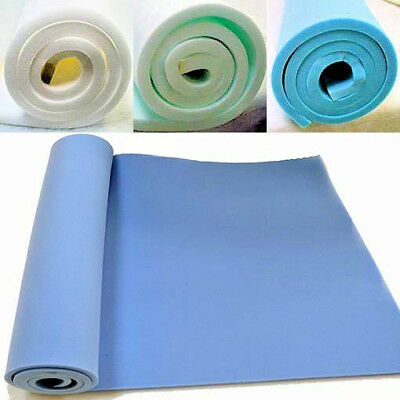£0.99 • Buy UPHOLSTERY FOAM SHEETS HIGH & MEDIUM DENSITY 60  X 20  ANY THICKNESS OR SIZE