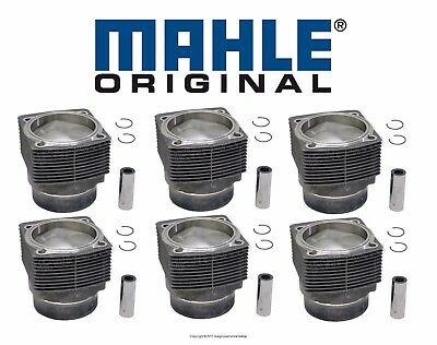 $3349.92 • Buy NEW For Porsche  911 3.0L H6 1978-1983 Set Of 6 Engine Pistons & Cylinders Mahle