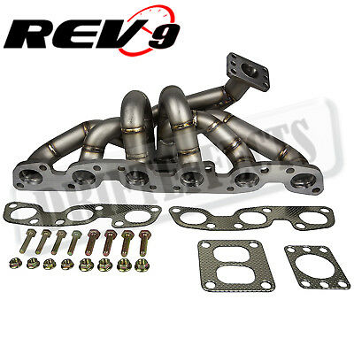 $454 • Buy REV9 HP-Series For RB26 RB26DETT Equal Length T4 Top Mount Turbo Manifold
