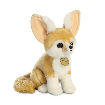 New Aurora Miyoni Plush 9  Fennec Fox Cuddly Soft Toy Teddy • 12.49£