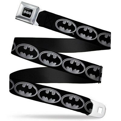 $23.95 • Buy Seat Belt Buckle For Pants Men Women Kids DC Comics Batman Silver WBM002