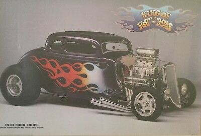 AU100 • Buy 1933 Blown Ford Coupe Limited Edition Poster