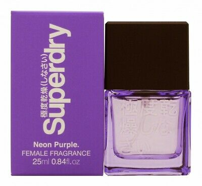Superdry Neon Purple Eau De Cologne Edc 25ml Spray - Women's For Her. New • 13.76£