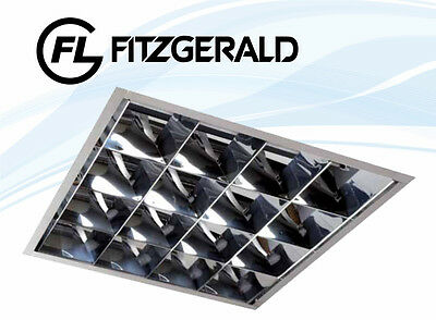 Fitzgerald Integra 600x600 Recessed Fluorescent Luminaire With 3x 14W T5 Lamp • 62.95£