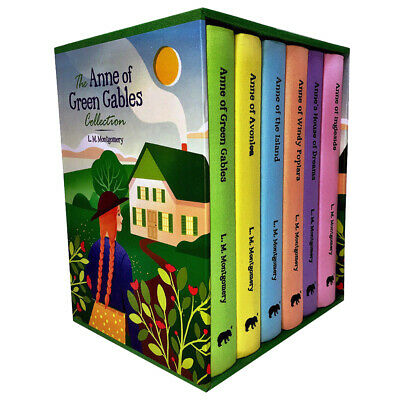 L. M. Montgomery Collection Anne Of Green Gables 6 Books Box Set Hardcover NEW   • 22.96£