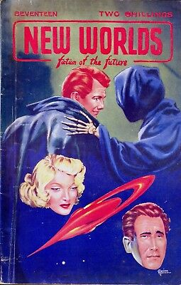 NEW WORLDS - Fiction Of The Future Magazine, September 1952. 96-Pages. Free Post • 4.95£