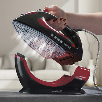 View Details EasySteam Steam Iron Ceramic Soleplate 2200W Cordless Corded 2in1 Non Stick NEW • 30.00£