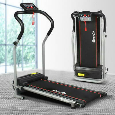 AU209.90 • Buy Everfit Electric Treadmill Home Gym Exercise Machine Fitness Equipment Black