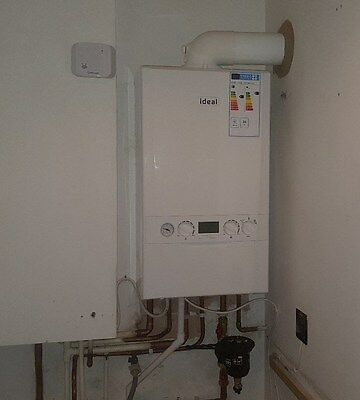 Ideal Logic+ 35 Combi Boiler Supplied & Fitted *Crawley* 7 Years Warranty • 1,530£