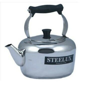 Pendeford Steelex Traditional Heavy Duty Stove Top Kettle 4Ltr 4L For All Hobs • 45.99£