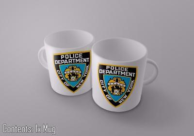 NYPD Police Department City Of New York - Funny Novelty Tea/Coffee Mug • 7.50£