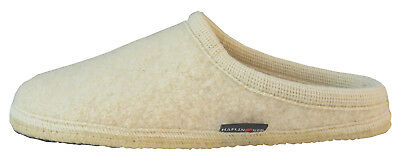 Haflinger Soft Slippers [Size 43/44] Men's Wool White New & Original Box • 27.04£