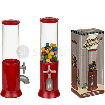 Retro Mini Sweet Vending Machine Children's Jelly Bean Candy Dispenser Kids Toys • 99.95£