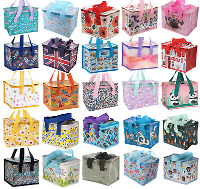 Childrens Kids Adult Lunch Bags Insulated Cool Bag Picnic Bags School Lunch Box • 3.89£
