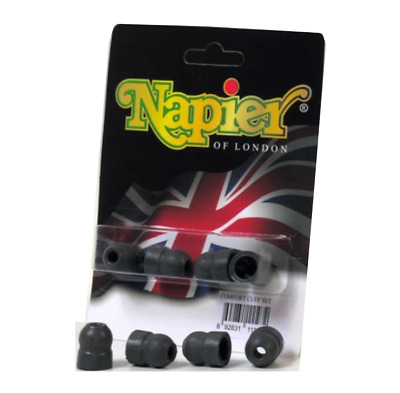 £5.74 • Buy Napier Cuff Rubber Replacement Pack Pair Pro 9 10 Ear Defenders Buds
