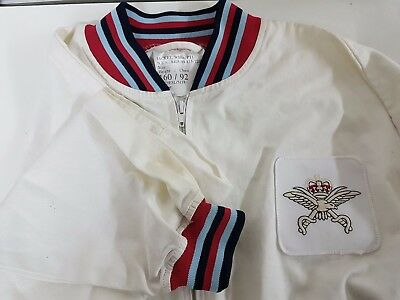 Genuine Tri-Services Physical Training Instructor White Men's Jacket 160/92 • 9.99£