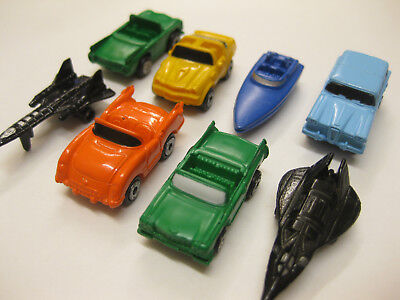 8 X MICRO MACHINES 5 X CAR BOAT & 2 AEROPLANE RARE COLLECTABLE 25+ YEARS OLD NEW • 4.99£