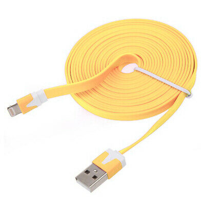 £2.49 • Buy 1 Meter Flat USB Data Charge Charger Cable Lead For IPhone 6 5S/C IPad Mini IPod