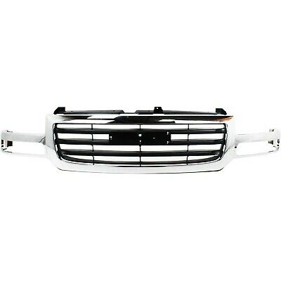 $144.83 • Buy Grille For 2003-2007 GMC Sierra 1500 2003 Sierra 1500 HD Plastic