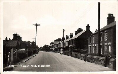 Snettisham. Station Road # 6326 By H.Coates. • 13.50£