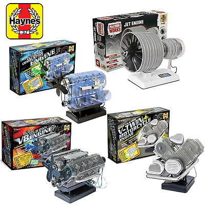 £38.49 • Buy Haynes Build Your Own Model Engine Kit Car Jet Birthday Christmas Gift Present