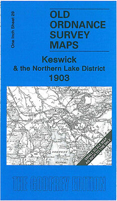 Old Ordnance Map Keswick & The Northern Lake District 1903 - England Sheet 29 • 3.75£