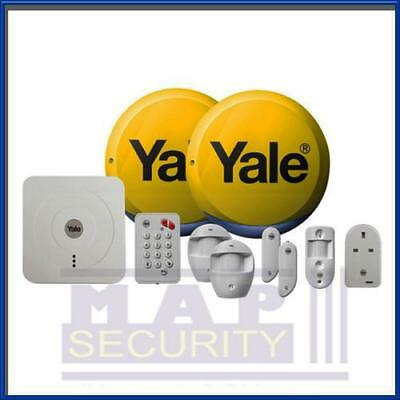 Yale Sr-340 App Control Alarm Kit - Genuine Uk Yale Distributor Same Day Postage • 385.99£