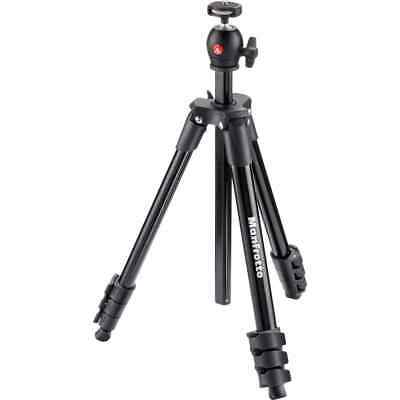 AU79.95 • Buy Manfrotto Compact Light Tripod - Black  -  MKCOMPACTLT-BK