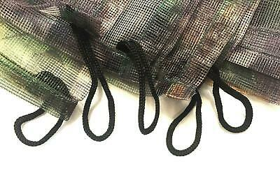 Clear View 4m Lightweight Camo Net Hide Shooting Woodland Oak Cw Loops Clearview • 19.99£