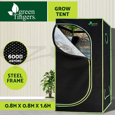 AU109.16 • Buy Greenfingers Grow Tent Kits 80 X 80 X 160cm Hydroponics Indoor Grow System