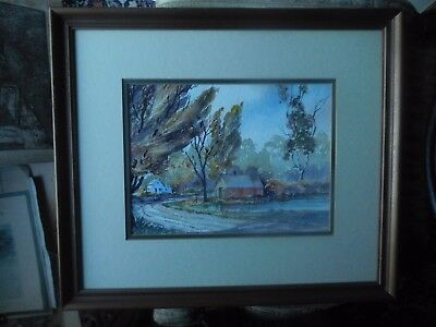 $ CDN245.48 • Buy Price Reduced WATERCOLOR By ESTHER BOLLINGER