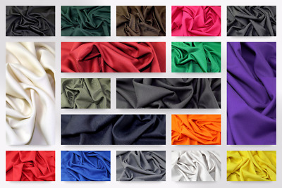 £6.99 • Buy Polyester Twill Suiting Dress Fabric (C6422-M)
