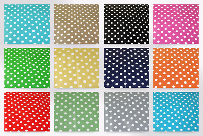 £4.78 • Buy Spot Print Plastic Coated PVC Table Protector Fabric (PVCTP-Spot-M)
