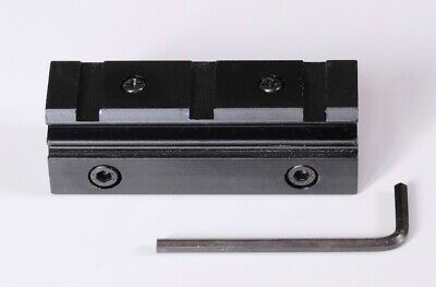 11mm To 20mm Scope/Sight Mounting Adapter Block In UK • 19.99£