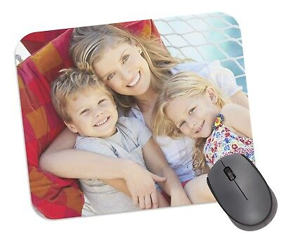 Personalised Mouse Mat Pad For Computer - Any Photo, Text, Logo, Soft Fabric.  • 3.95£