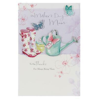 Hallmark Mother's Day Card 'Mum Traditional Lucy Cromwell 3D Illustrated' Large • 6.95£