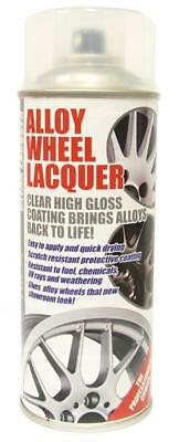 £16.90 • Buy CLEAR LACQUER Alloy Wheel Restoration Spray Paint 400ml MC18/02 (CL1)