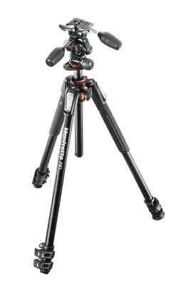 AU525 • Buy Manfrotto MK190XPRO3-3W Tripod With The MHXPRO-3W 3-way Pan/Tilt Head