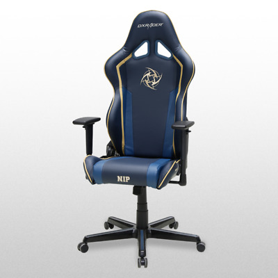 AU1789.86 • Buy DXRacer OH/RZ60/NGY Gaming Racing Seats Ergonomic Computer Office Chair