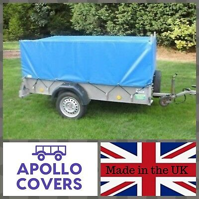 Trailer Cover For Ifor Williams P8e With Mesh Sides • 155.99£