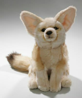 New Plush Cuddly Critters Fennec Fox Soft Toy Desert Fox Teddy • 13.99£