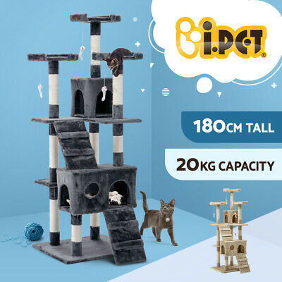 AU119.90 • Buy I.Pet Cat Tree Trees Scratching Post Scratcher Tower Condo House Furniture Wood