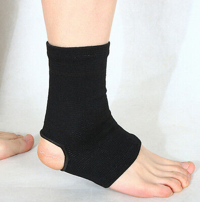 Ankle Foot Brace, Pair Sporteq Support Socks, Sports Gym Pain Injury Relief • 1.99£